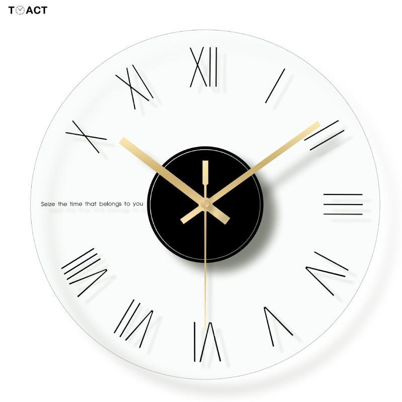 Orologi da parete Orologio da parete Nordic cucina moderna Progettazione Home Decor Big Digital di lusso vigilanza d'attaccatura del regalo Reloj de Pared Moderno