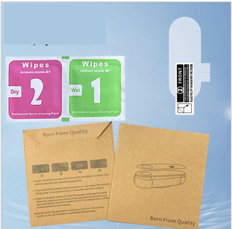 Soft Hydrogel Film Protecteur d'écran pour la bande Xiaomi MI 5 4 3 Bande 2 Mi Band5 dans le paquet de détail 1PC / Pack 2Pac / Pack 300pcs / Lot