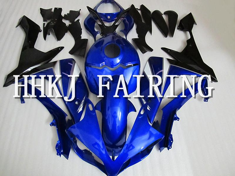 Moto in plastica ABS carene Fit Kit Per Yamaha YZF R1 2007 2008 Injection Molding motore Moto Hull carenatura HC723