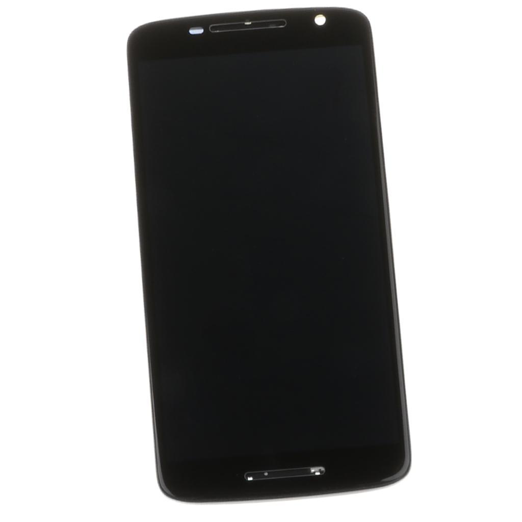 LCD استبدال الشاشات التي تعمل باللمس عرض LCD محول الأرقام مع إطار الجمعية جبهة زجاج صالح للموتو X لعب XT1561 XT1562 XT1563