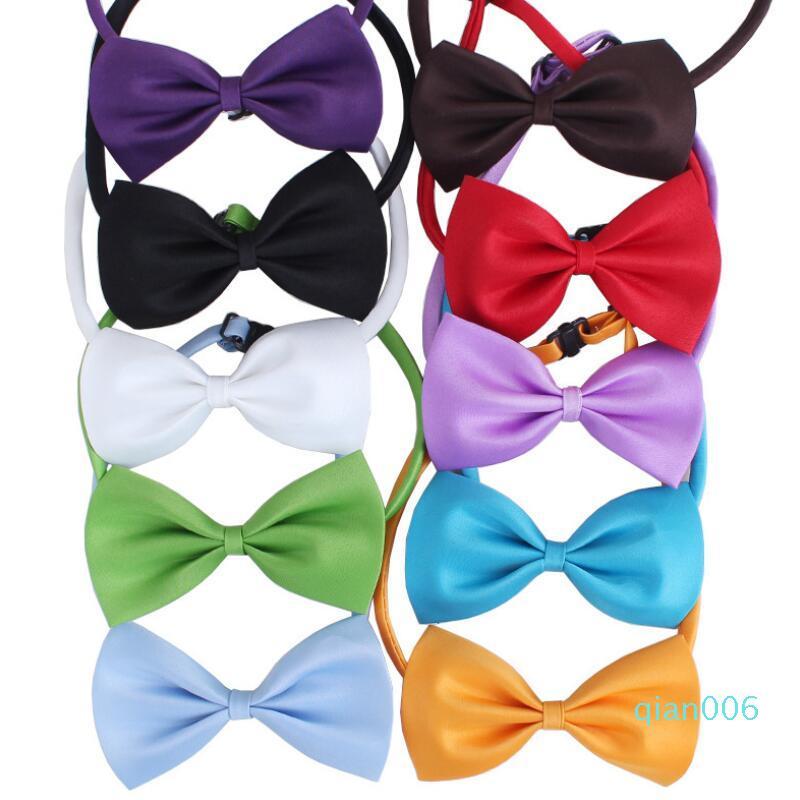 Ajustáveis Cat Dog arco cachorro arcos gravata cão de estimação gravata borboleta gravata borboleta pet cores diferentes fornecer DHC1467