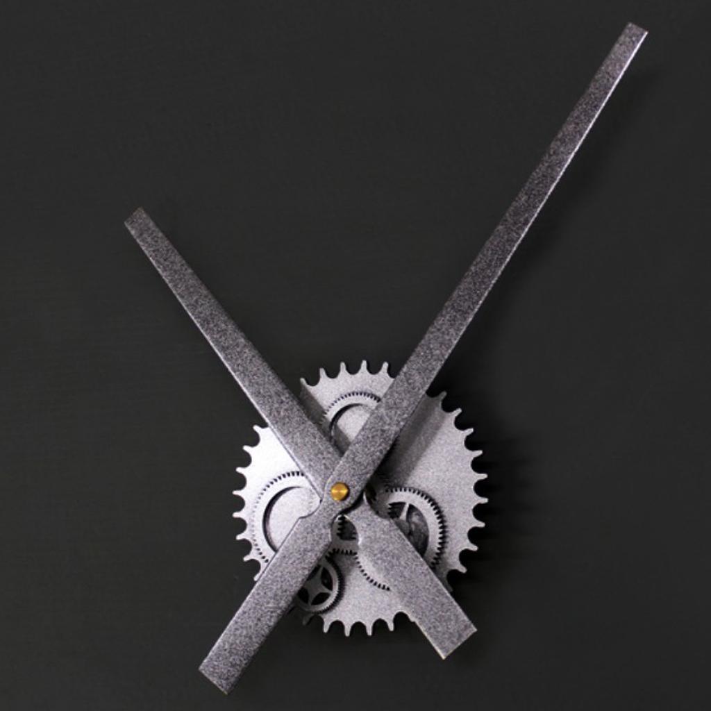 Mécanisme Vintage bricolage Horloge Mouvement Retro vitesse Grande Horloge murale pour Bureau
