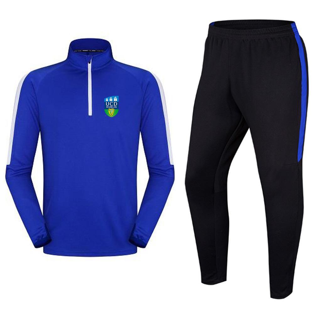 كلية جامعة دبلن A.F.C الرجال رياضية كرة القدم سترة التدريب الترفيه الدعاوى الكبار الاطفال في الهواء الطلق الرياضية الركض المشي لمسافات طويلة