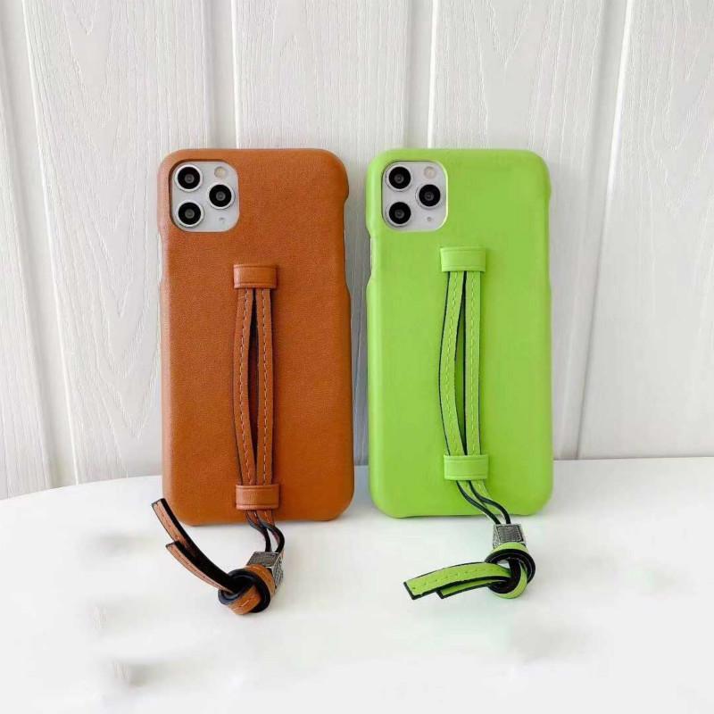 Moda iPhone Kılıf Uygun Iphone11Promax 11Pro 11 XS MAX 7P / 8P 7/8 XR Yeni Sıcak Deri Yüksek Kaliteli Modern Stilist Telefon Kılıfı 5 Style için