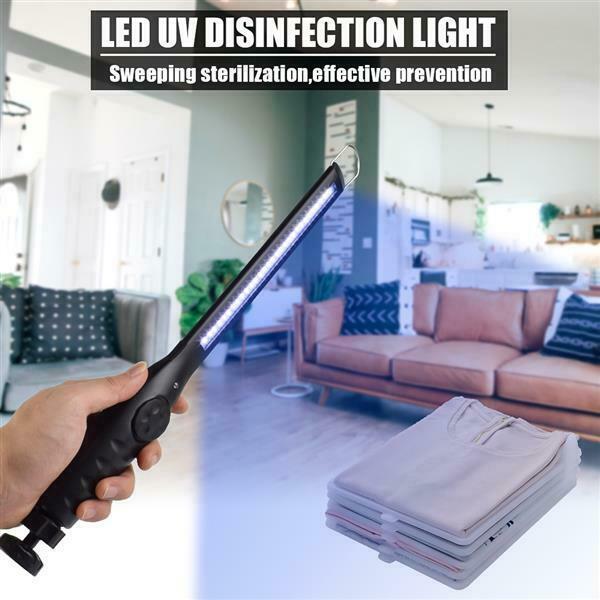 USB 휴대용 UV UVC 살균 등 살균 램프 홈 휴대용 소독