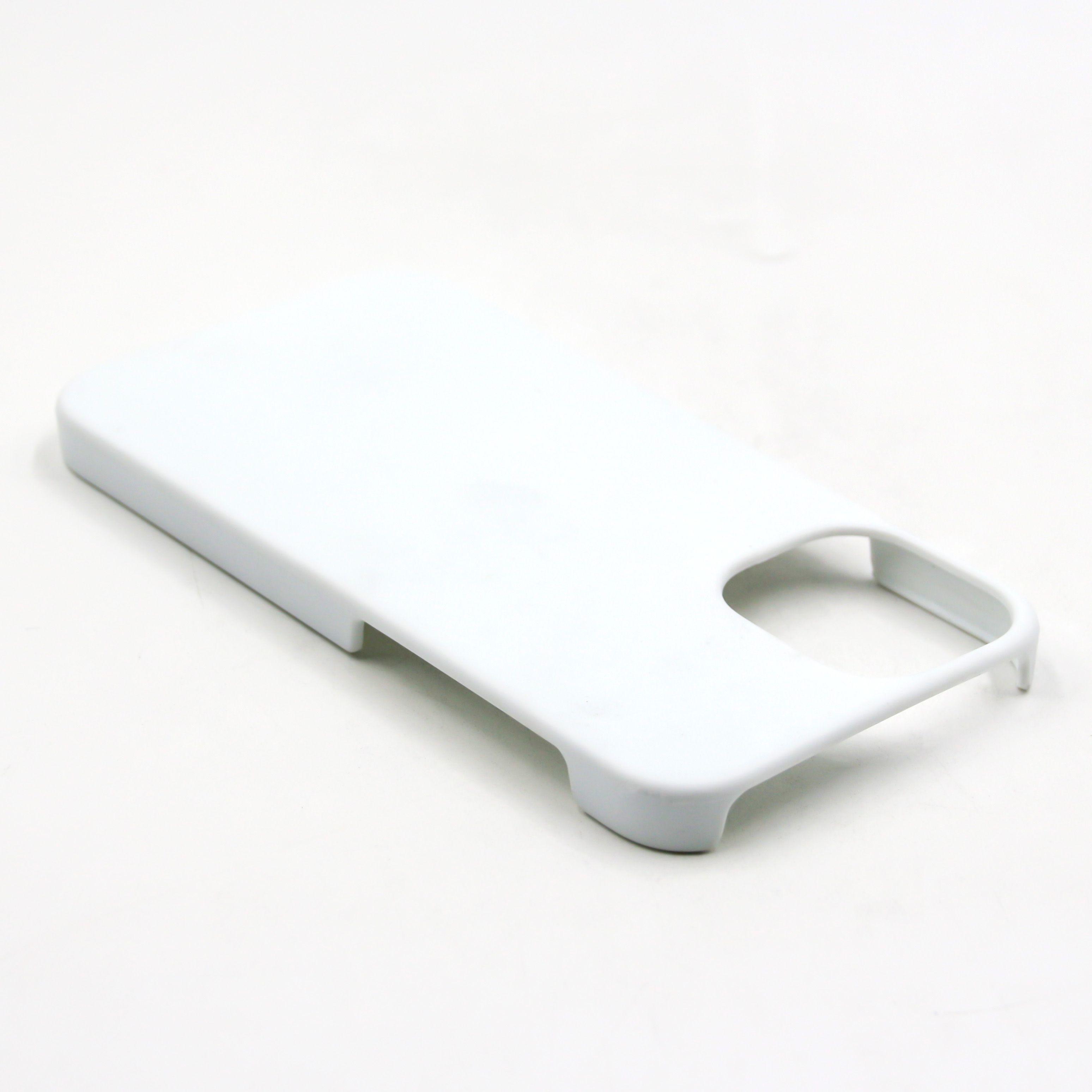 DIY 3D حالة التسامي فارغة تغطية مساحة كاملة مطبوعة آيفون 13 ميني 11 12 برو ماكس x XR XS SE 6 6S 7 8 زائد 100pcs