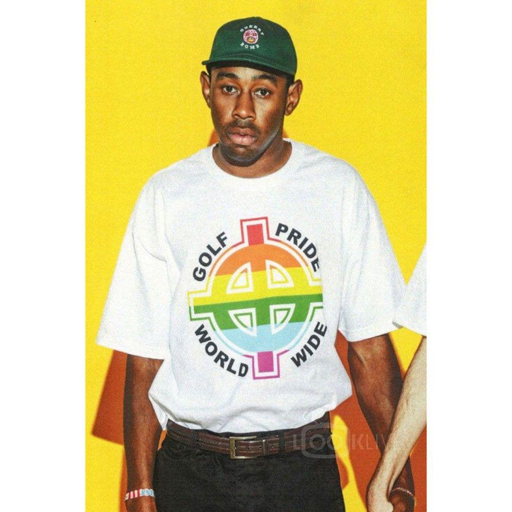 Тайлер Создатель Odd Future Wolf Gang OFWGKTA Skate Harajuku Лето T-Shirt Женщины Unisex Мужчины Женщины T-Shirt Забавный