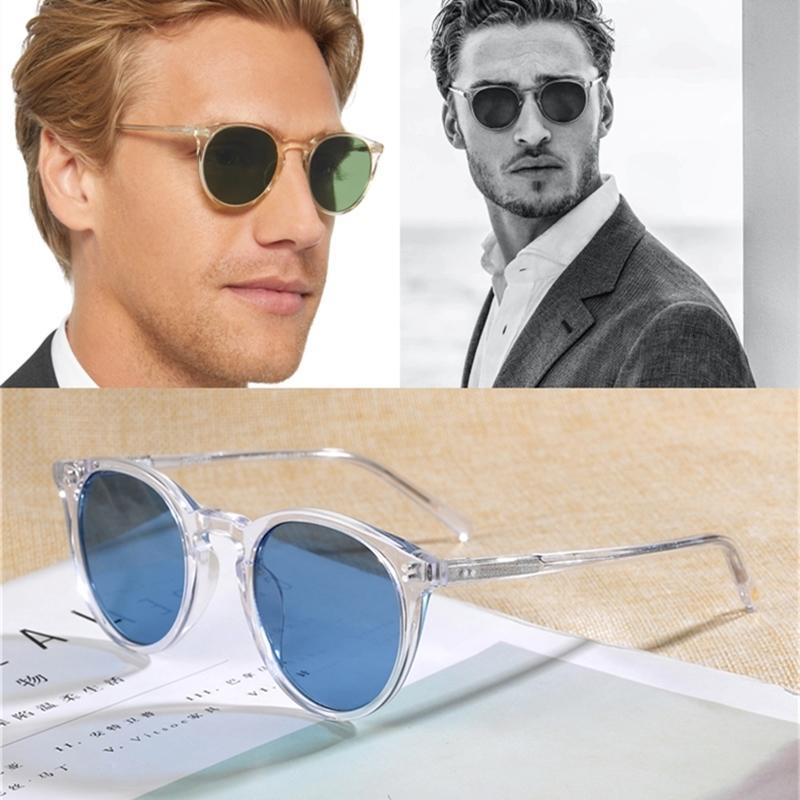 Sol de homens 2020 Óculos de sol clássicos Marca OV5183 Masculino O'Malley Mulheres Sun Oculos Polarizado Unisex Nljma