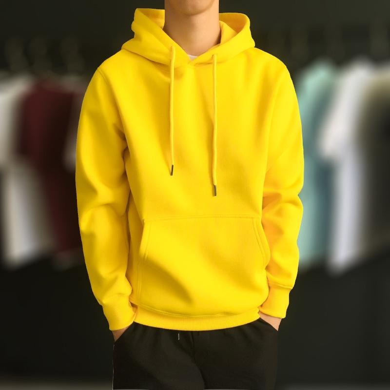 2020 Осень pulloverSportswear пуловеры и зима новый пуловер свитер мужской спортивной одежды бархат с капюшоном свитер случайные капюшоном пальто 5ZYKH