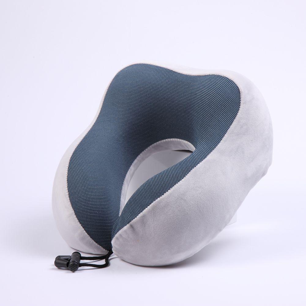U şeklinde yastık servikal vertebra yastık belleği pamuk seyahat şekerleme yastık yavaş ribaund işlevi demonte ve yıkanmış çok renkli op