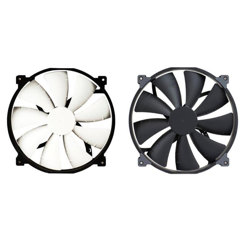 ALLOYSEED 20cm caja de la PC Los aficionados PH-F200SP 12V 0,25A 17.52CFM chasis de la computadora CPU ventilador enfriador 25dBLow ruido del disipador de calor de refrigeración del radiador