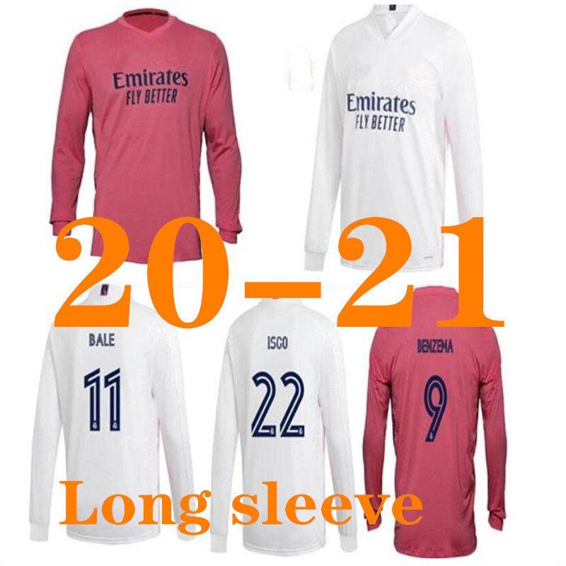2019 20 21 레알 마드리드 축구 유니폼 2020 2021 위험 홈 KROOS ISCO 모드리치 축구 균일 한 성인 남자 골키퍼 축구 셔츠 긴 소매