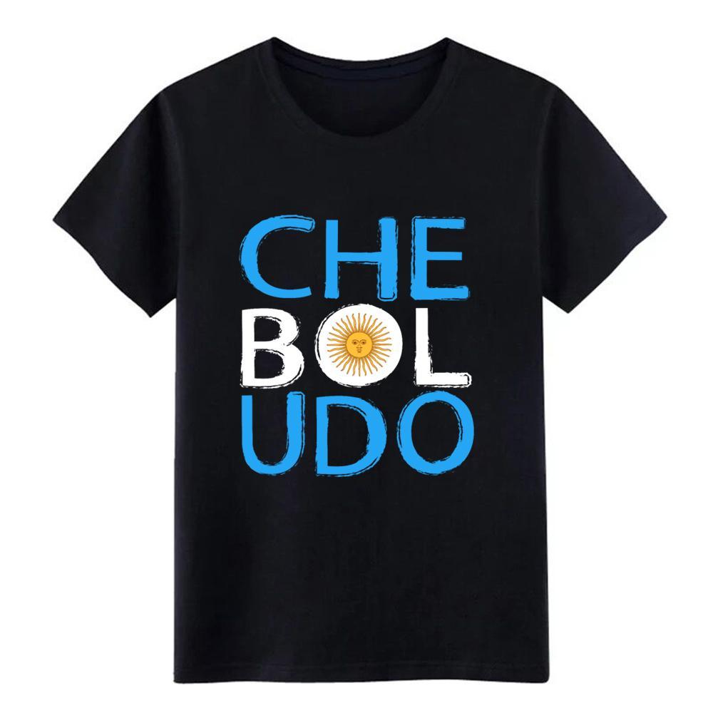 Che Boludo divertente argentino Orgoglio Mens assorbimento dell'umidità prestazioni maglietta dimensioni Stampa di cotone S-3XL raffreddare camicia allentata Follie