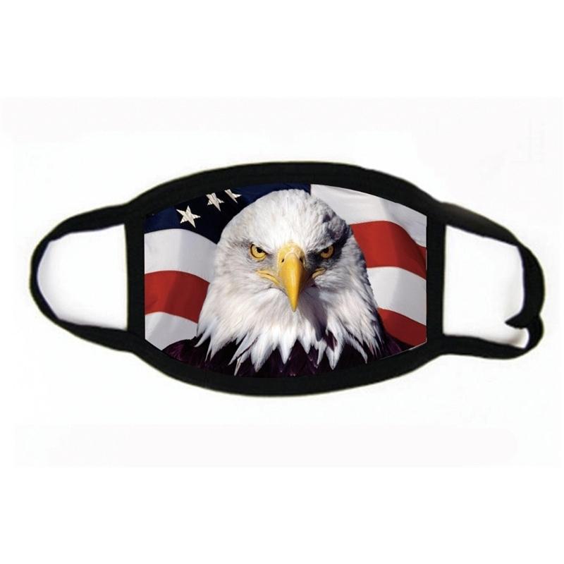 Cara letras impressas nós, rapazes, presidente Meninas Máscara 2020 Máscaras Bandeira Poeira Fogwashable # 977