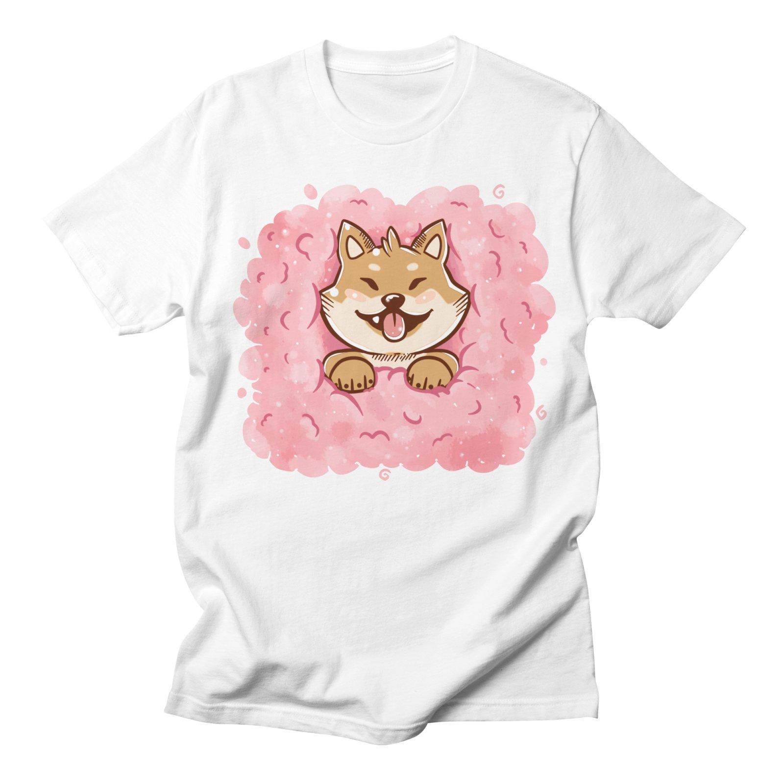 Shiba Inu T-shirts femmes T-shirts Mode Kawaii doux Streetwear Harajuku de haute qualité d'été style décontracté T-shirt mignon Femme