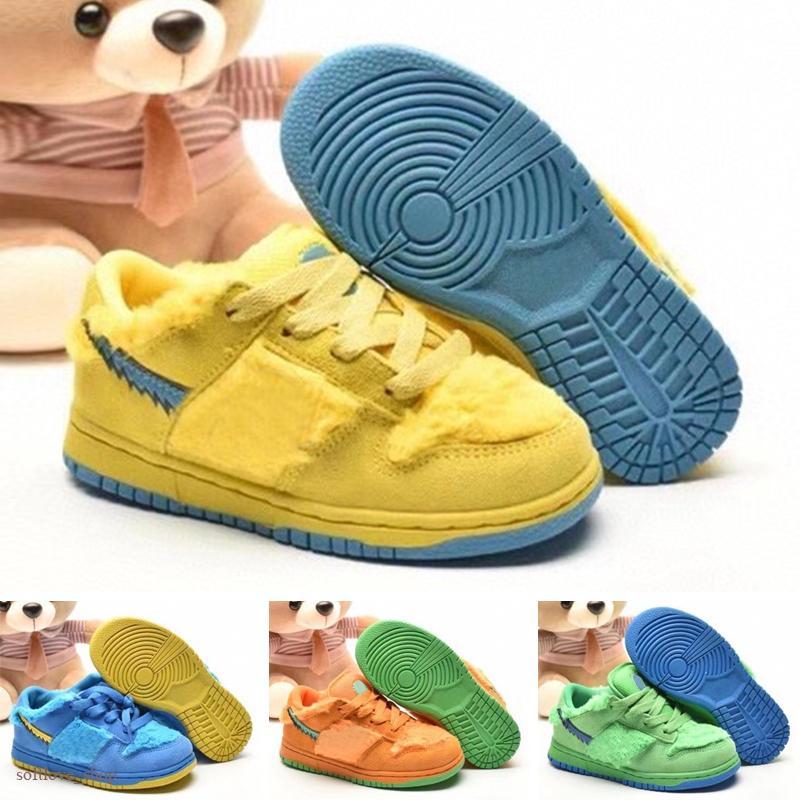 Acheter Grateful Dead X Nike SB Dunk Low Green Bear Chaussures De ...