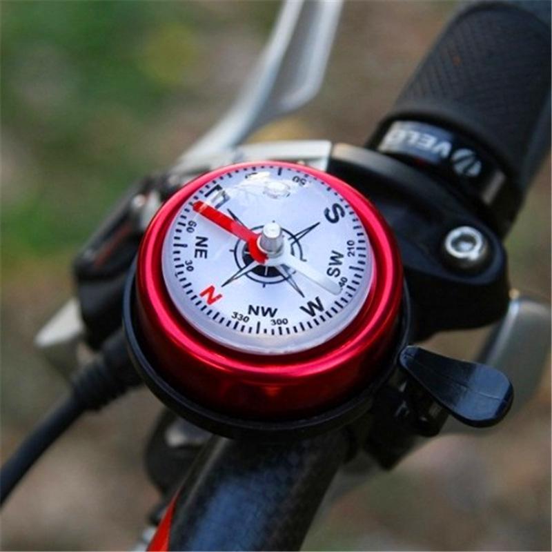 3eEKa Grand vélo cloche VTT de vélo boussole anneau cloche auto Accessoires de matériel équestre