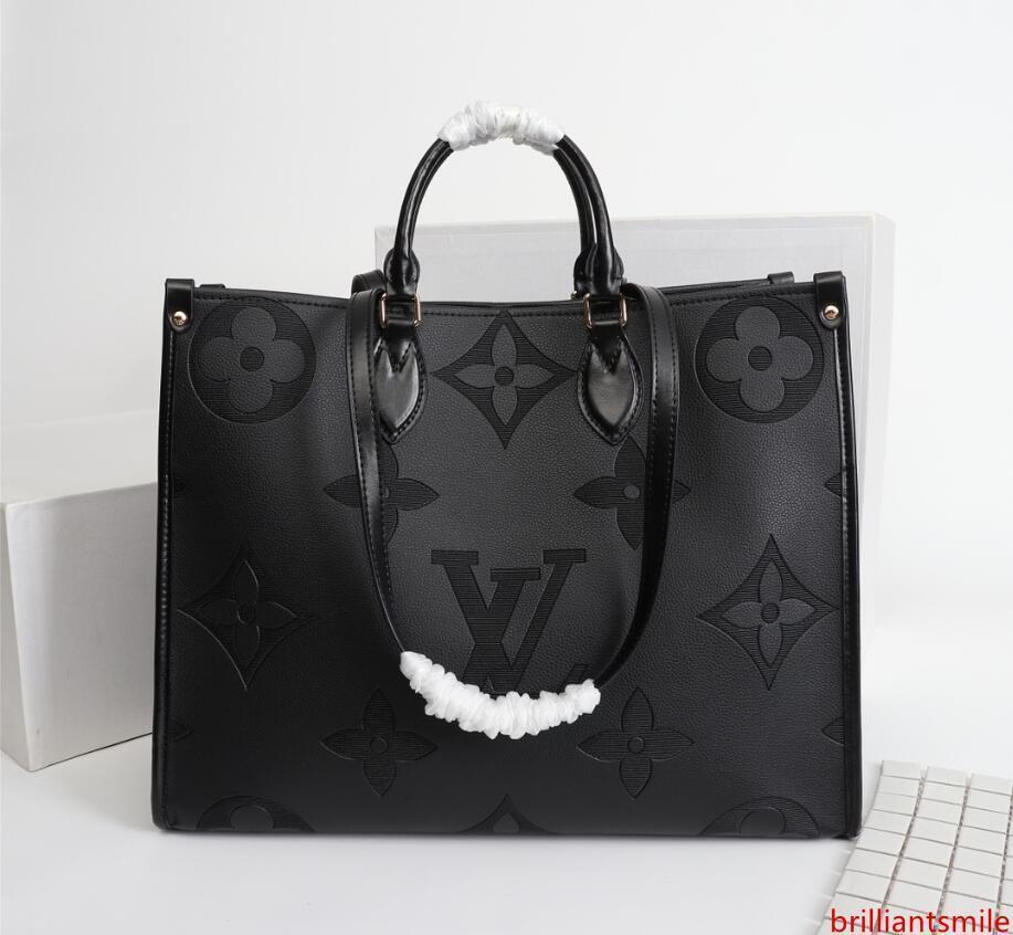 2021 Tasarım Kadın Çanta Bayanlar Totes Debriyaj Çanta Yüksek Kalite Klasik Omuz Çantaları Moda Deri El Çanta çanta AA9