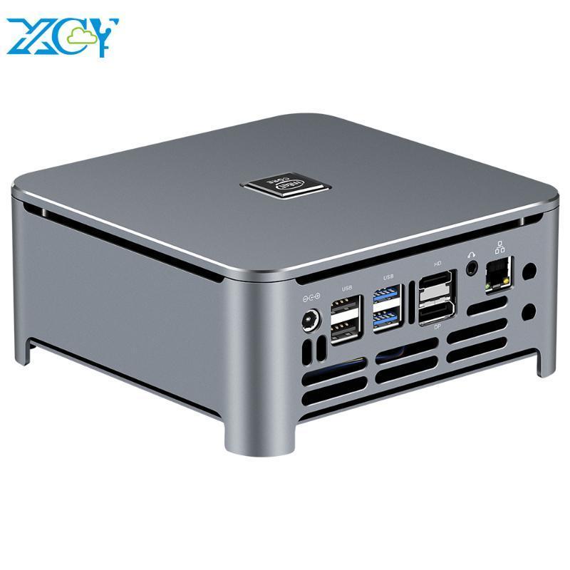 XCy Mini PC Intel Core i9 9980HK 8 core M.2 NVMe SSD 2 * DDR4 UHD Grafica 630 2.4 / 5.0G WiFi Bluetooth 4.0 HDMI DP 4K di Windows 10