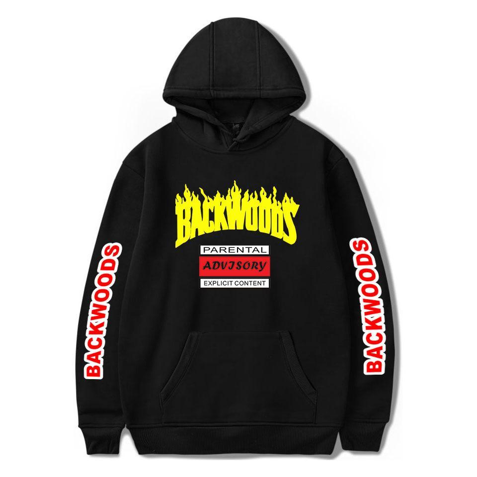 BACKWOODS Maxi-Hoodie Frauen Männer Harajuku Sweatshirt Mode Street Hip Hop Pullover Kapuzenjacke lässige Sportswear