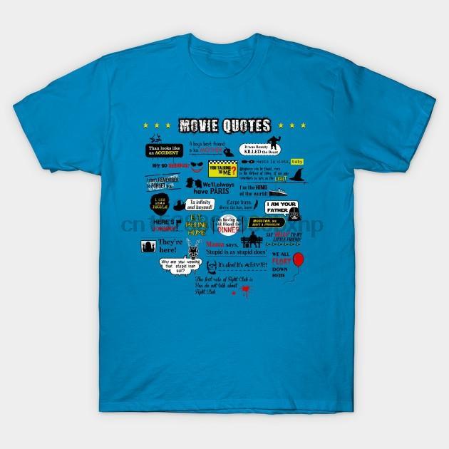 uomini maglietta donne migliori citazioni di film Movie Quotes maglietta maglietta T top