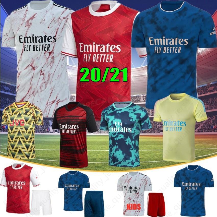 Gunner 2021 Arsen maglie calcio PEPE SOKRATIS NICOLAS CEBALLOS GUENDOUZI Tierney 20 21 nuove camice di gioco del calcio Tailandia uomini Maglie