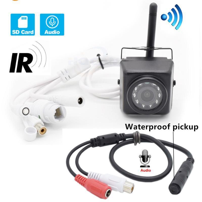 كاميرات Hqam Audio 720P 960P 1080P للرؤية الليلية في الهواء الطلق WiFi IP كاميرا عش الطيور مشاهدة مقاوم للماء بيك اب كامهي
