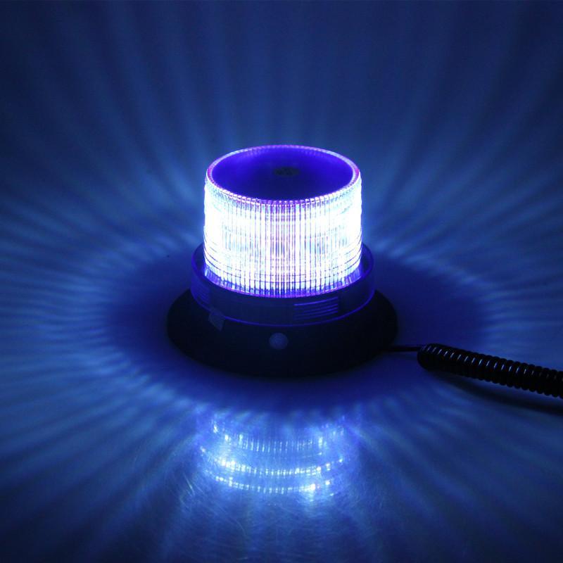 Blue Color 12V/24V Magnetic Mounted Vehicle Car LED Strobe Warning light Flashing Lights led Emergency Lights Beacon