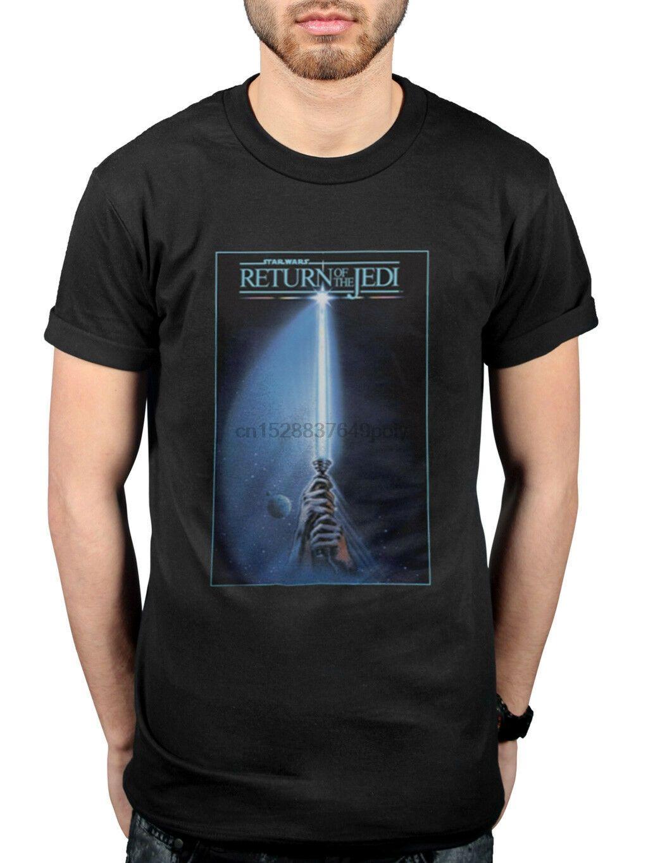 Officialharajuku Street Hemd Menreturn der Jedi-Ritter-T-Shirt Yoda Boba Kylo Ren Anakin