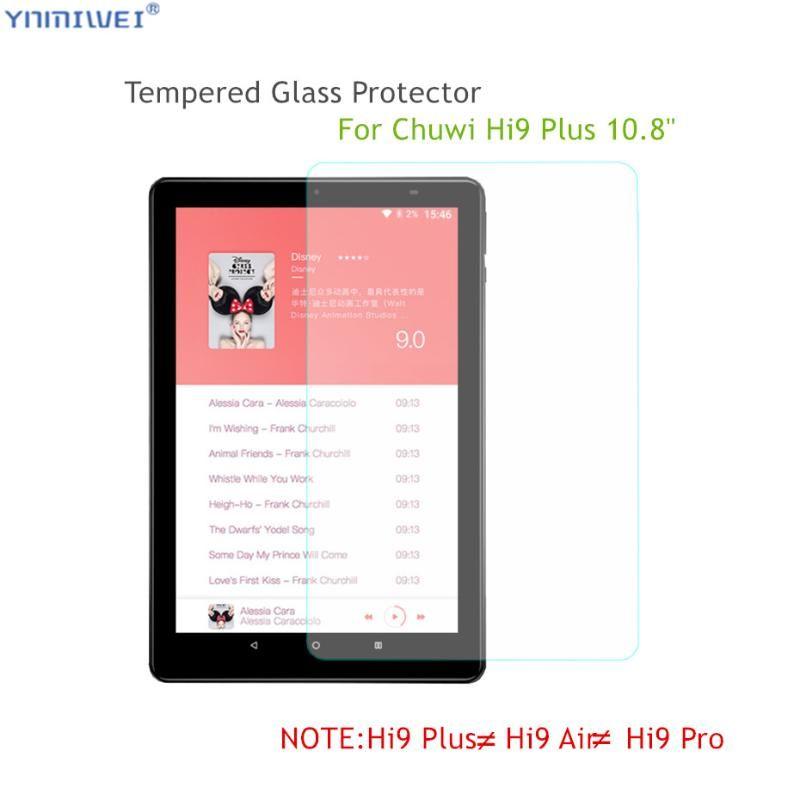 3Piece protezione di vetro Per CHUWI Hi9 plus Scratch-Resistant Protezioni 0,3 millimetri di schermo per Hi9 plus 10.8 Tablet vetro Cinema