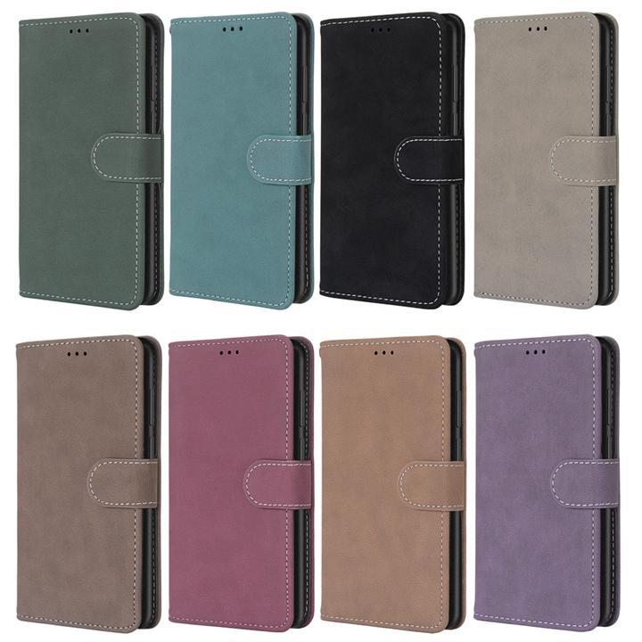 Матовый Ретро кошелек кожаный чехол для Huawei P Смарт 2020 Y6P Y8S Наслаждайтесь 20 Pro Honor 9X Lite 30 Play 4 Х10 Stand матовое фото крышка телефона
