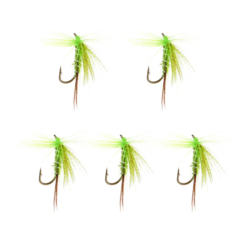 5pcs Wet Flies Pesqueiro Artificial Insect Fly Fishing Flies Iscas Isca