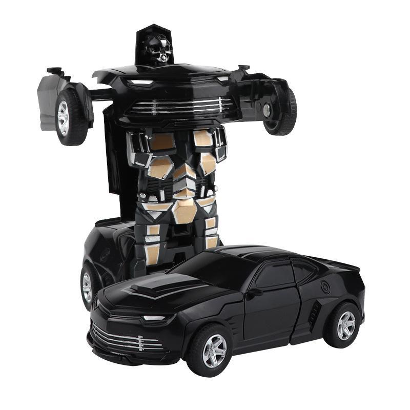 Новое Прибытие Одноъязычество Деформация Автомобильные Игрушки Автомобильные Игрушки Автоматический Преобразование Робот Пластиковый Модель Автомобиль Смешные игрушки для мальчиков Удивительные подарки Малыша Игрушка KO