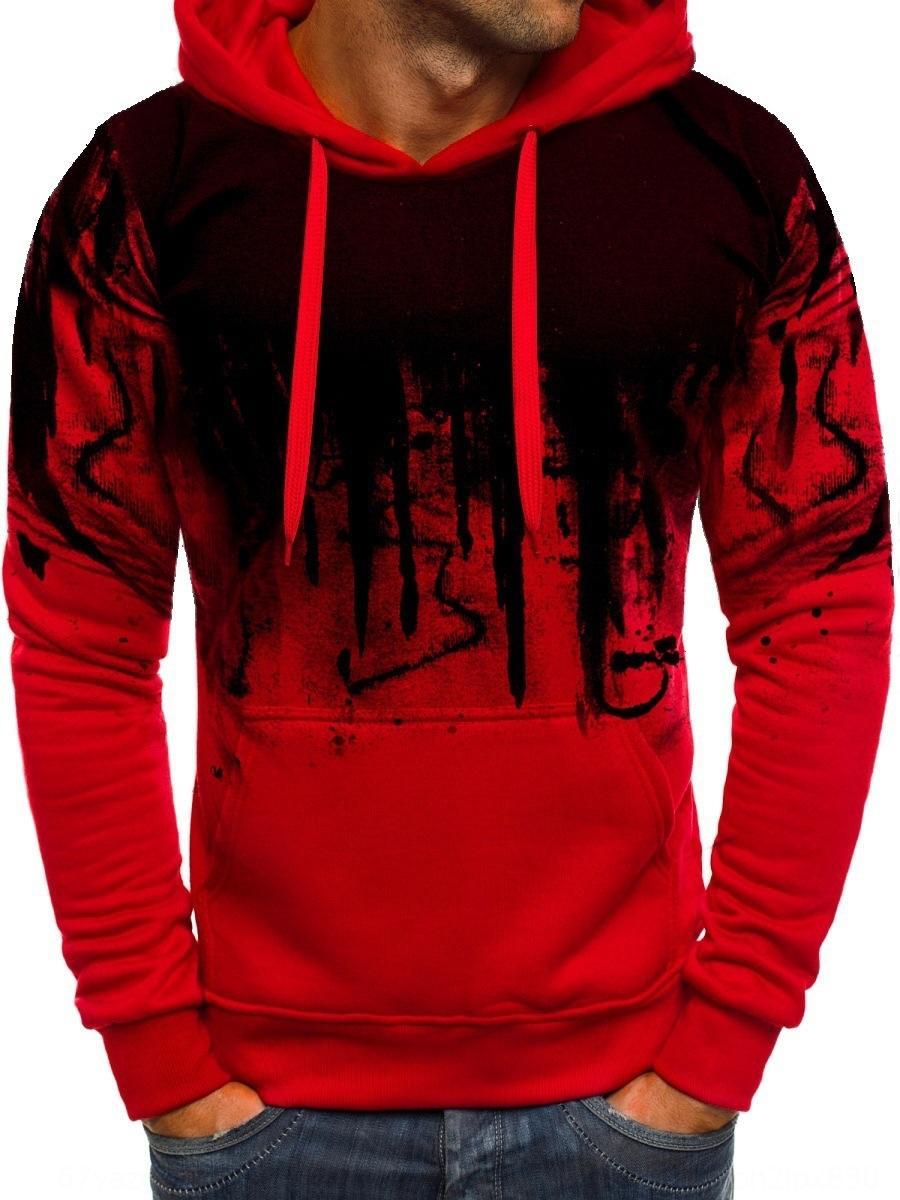 2019 Outono novo vento 2019 Outono nova camisola do hoodie hAIo0 camisola Hoodie dos homens de vento dos homens