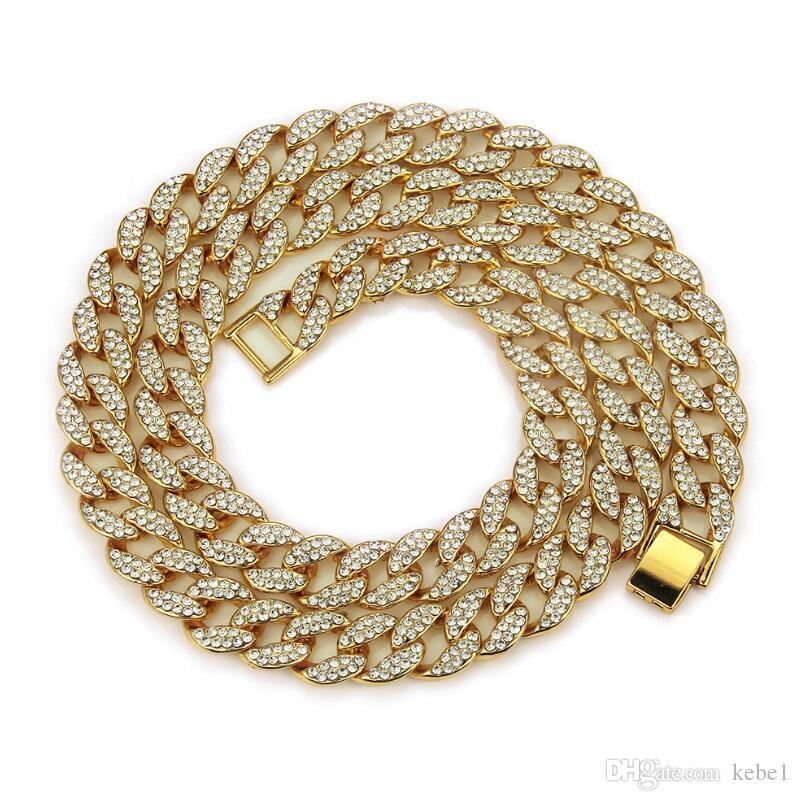Cadena hombre de la calle Collar colgante hombres de Hiphop Cultura de titanio de acero inoxidable de moda de la manera del collar de la joyería hombre regalo