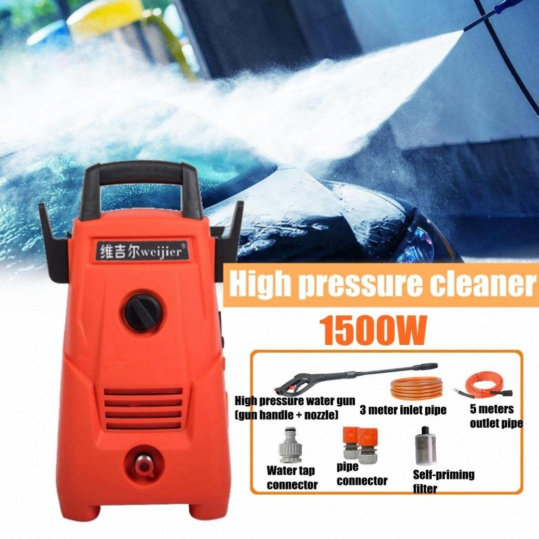 1500W high pressure Household 220v IPX5 Automatic Potable Car Washer Cleaner pump Water Gun 75su#