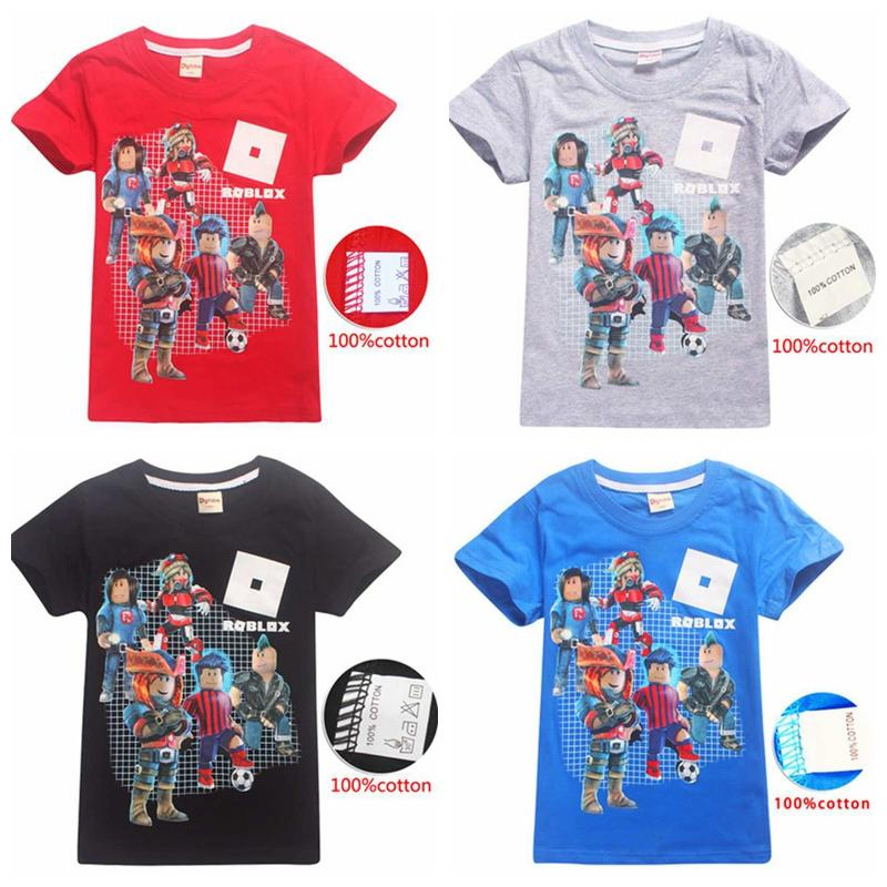 White Sleeves Roblox 2020 2020 Summer Fashion Unisex Roblox T Shirt Children Boys Short Sleeves White Tees Baby Kids Cotton Tops For Girls Clothes 3 14y From Zbd123 7 4 Dhgate Com