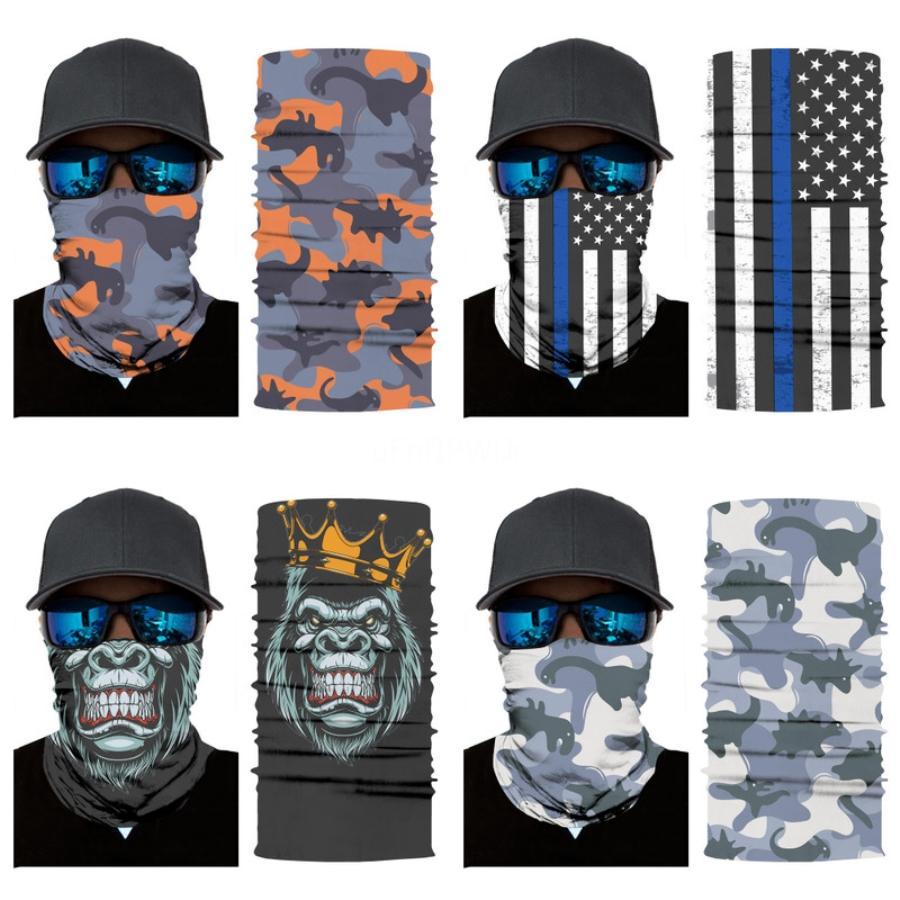 Spor Buz İpek Bisiklet Eşarp Maske Yaz Suncare Fonksiyonlu Yüz Maskesi Açık Nefes Bisiklet Yüz Maskeleri # 471