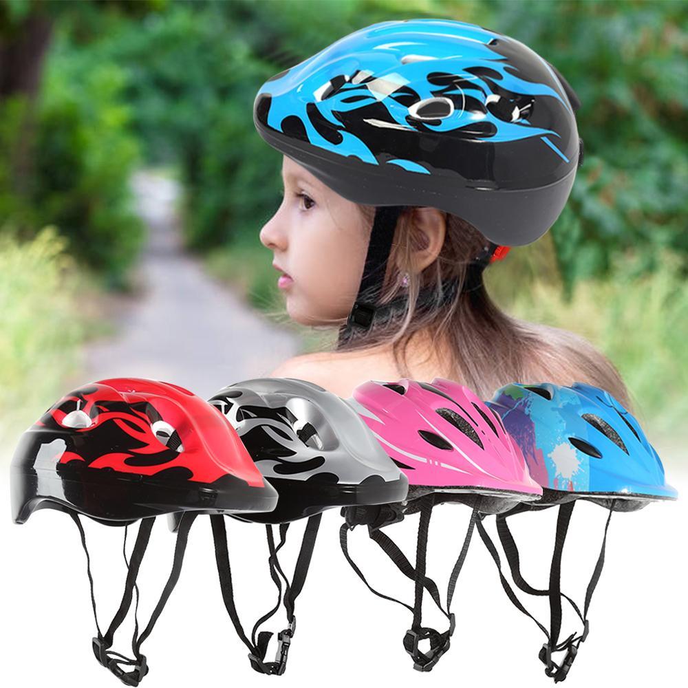 7Pcs / set ginocchio Bambini Boy Girl Gomitiera Imposta bambini in bicicletta Skate bicicletta casco di protezione della protezione di sicurezza