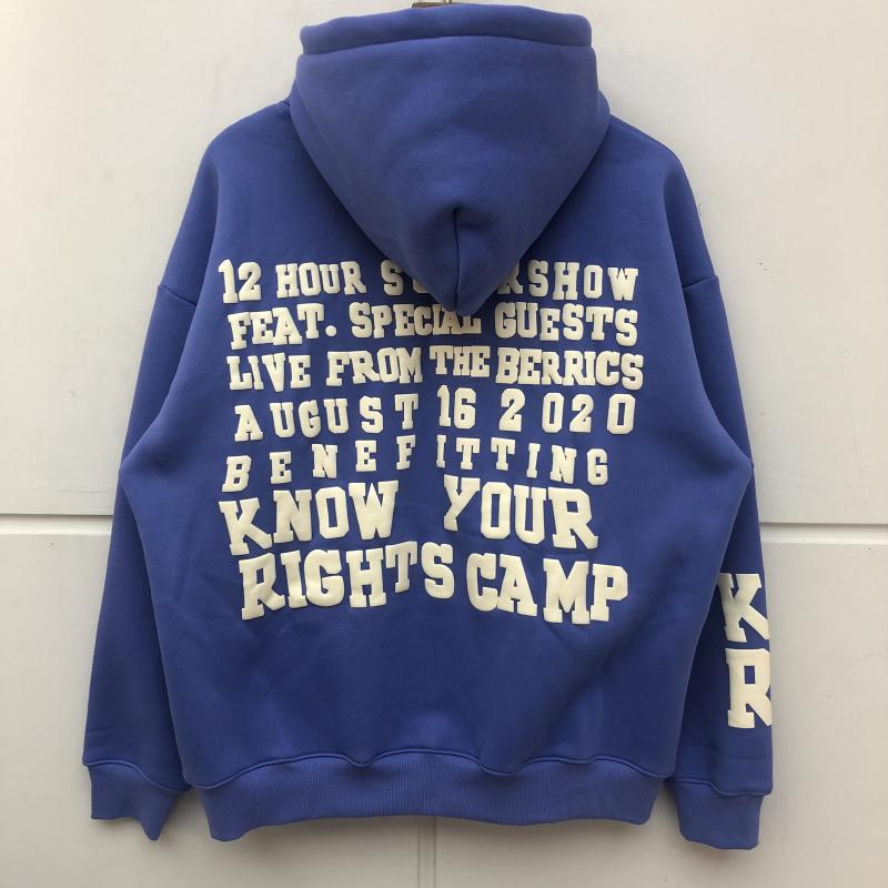 Качество хлопчатобумажная печать с капюшоном 3D синий толстовки женщин мужчин пуловеры топ AGGPQ