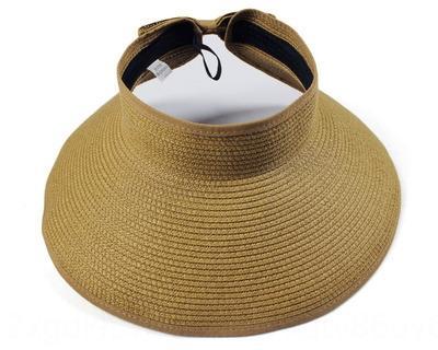 gH6Bn pieghevole vuoto-Top sole per Cappello di paglia cappello di paglia di estate Protezione figli ei figli del sole UV spiaggia