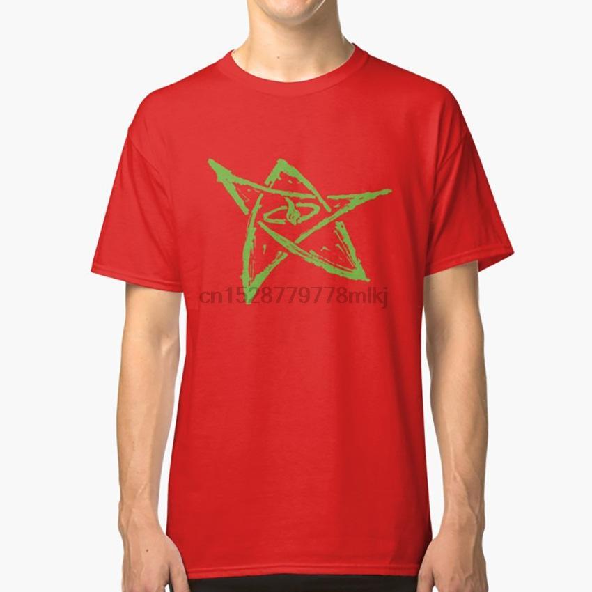 Anruf von Cthulhu Elder Sign- Alten Grün-T-Shirt