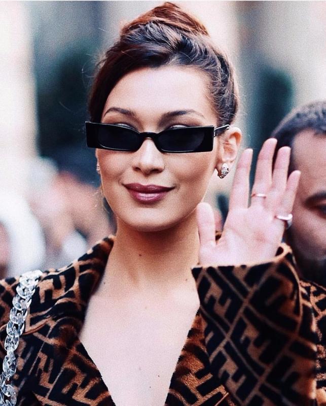 Femmes Rectangle Lunettes Cy131 2020 Shades Cat Black Cat Eye Sunglasses Sunglasses pour Marque Square Petite Femme Retro Femmes Unisex Designer Gbqmu