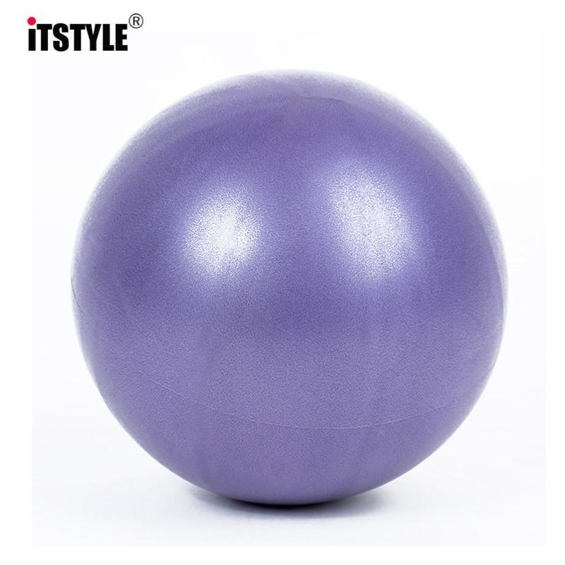 Spor Aletleri Egzersiz ev Trainer GYM Yoga Pilates için ITSTYLE 25cm Mini Yoga Topu Fiziksel Uygunluk denge Topu