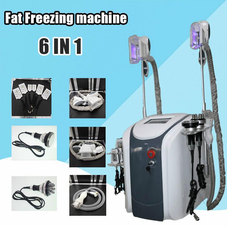2020 nueva congelación criolipólisis grasa Máquina crioterapia adelgaza cavitación RF máquina de reducción de grasa de Lipo láser Máquina de DHL
