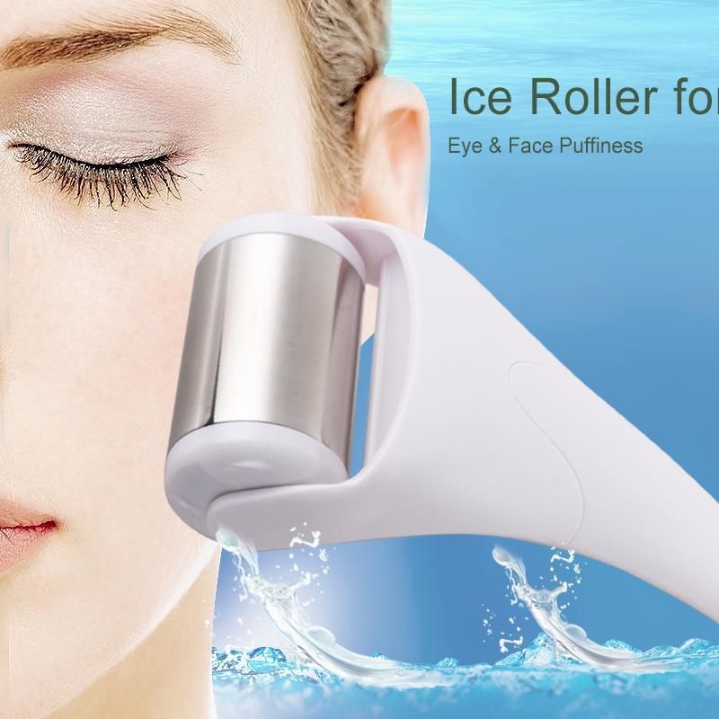 Beauty Star Ice Derma Roller For Facial Skin Cooling Dermo Roller Massager for Face Body Massage PreventiWrinkle Skin Tighten