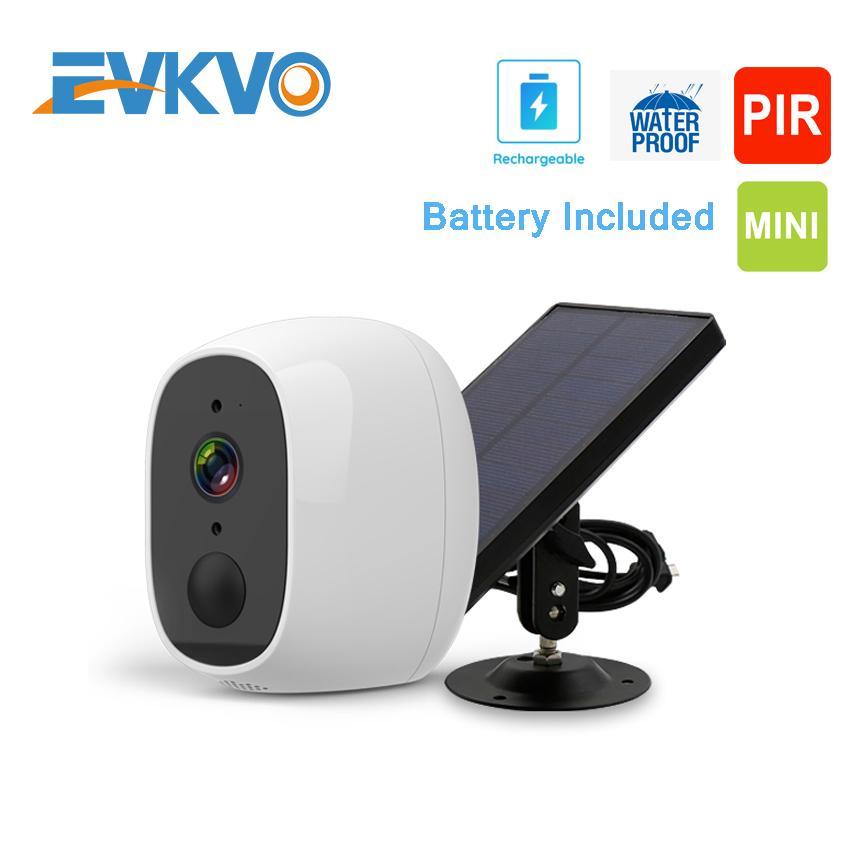 1080P Outdoor Solar Camera Wifi Wireless Rechargeable Battery IP Camera IR Motion Sensor Security Video Surveillance CCTV Camera
