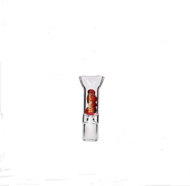 Новый прозрачный стеклянный фильтр с цветной бур стекла держатель сигареты с фильтром