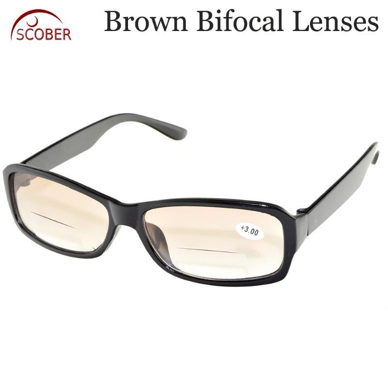 2020 Nomanov! Dos pares! Los lentes bifocales gafas de lectura 0,75 1,25 1 1,5 2 2,5 3 3,5 4 Ver cerca y de lejos multifunción