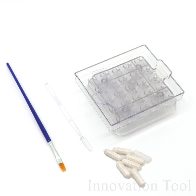 Remplissage manuel Conseil machine Taille 00 0 1 2 pilules bricolage liquide pharmaceutique Maker outil de remplissage